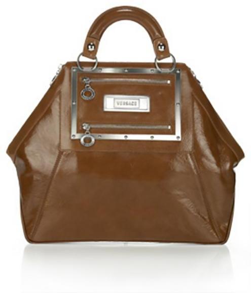 Versace Patent Hit Bag