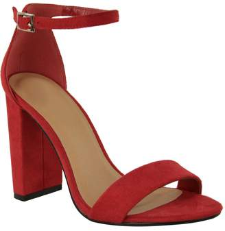 70f5859a291 at Amazon Canada · Fashion Thirsty Womens Block High Heels Ankle Strap Open  Toe Sandals Shoes Size 5