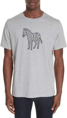 Paul Smith Zebra Organic Cotton T-Shirt