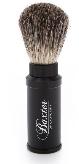 Baxter Of California Baxter of California Aluminum Travel Shave Brush