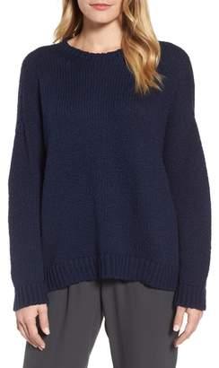 Eileen Fisher Organic Cotton Crewneck Sweater