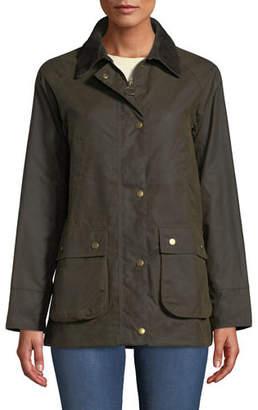 Barbour Acorn Waxed Jacket w/ Collar