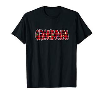 Grandpapa Lights Christmas Pajama Gift Tshirt Dad's Mom's