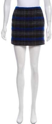 The Kooples Patterned Mini Skirt