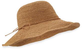 Helen Kaminski Tahani Crochet Raffia Hat