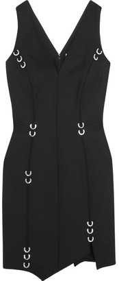 Mugler - Embellished Stretch-wool Mini Dress - Black $2,180 thestylecure.com