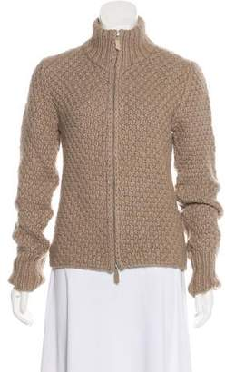 Akris Long Sleeve Zip-Up Jacket
