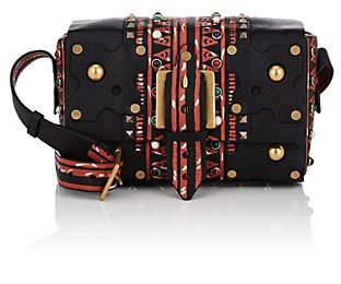 Valentino WOMEN'S LEATHER SHOULDER BAG - BLACK PAT.