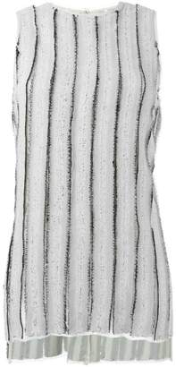 Proenza Schouler frayed stripe tank top