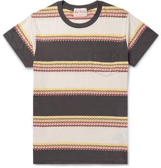 Levi's 1950s Striped Cotton-Jacquard T-Shirt