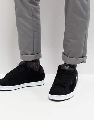 Etnies Fader Sneaker In Black