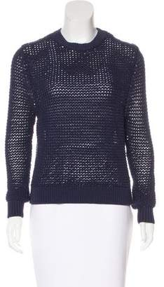 Steven Alan Open Knit Long Sleeve Sweater