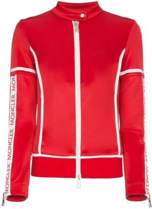 Moncler Panelled Fitted Logo Jacket
