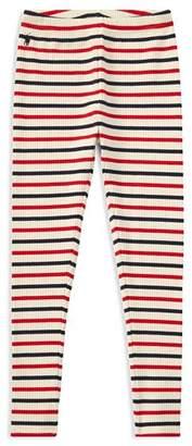 Ralph Lauren Girls' Striped Leggings - Big Kid