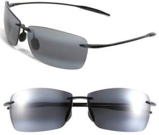 Maui Jim Lighthouse 65mm PolarizedPlus2(R) Rimless Sunglasses