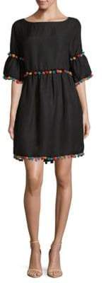 Pom-Pom Shift Dress