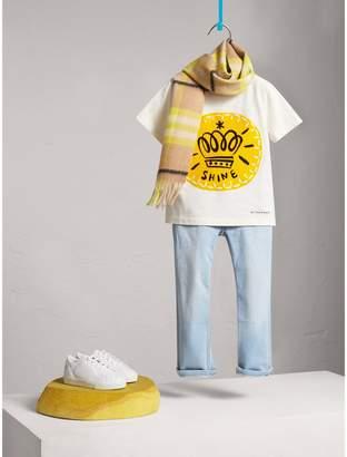 Burberry Icons Motif Cotton T-shirt