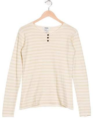 Sonia Rykiel Girls' Striped Knit Top