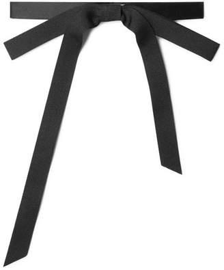 Gucci Pre-tied Silk-faille Bow Tie