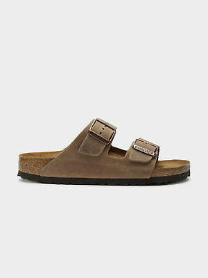 Birkenstock New Womens Arizona Narrow Sandals In Tabacco Brown Womens