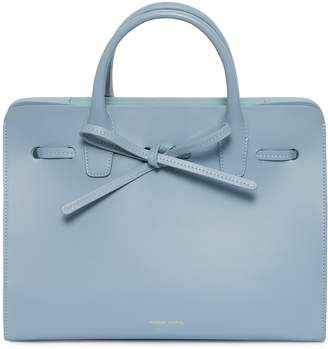 Mansur Gavriel Calf Mini Sun Bag - Grey Blue