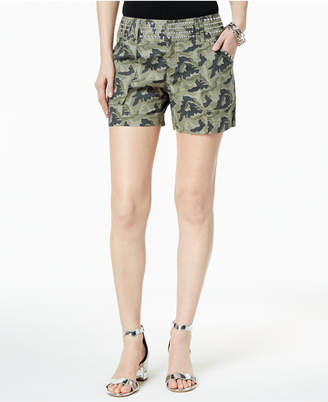 INC International Concepts I.n.c. Studded Camo-Print Shorts, Created for Macy's
