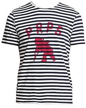 PRPS Men's Stripe Logo Tee