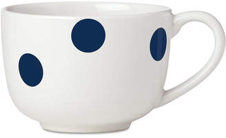 Kate Spade All in Good Taste Deco Dot Cobalt Latte Mug