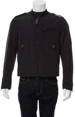 Burberry Tab-Collar Jacket