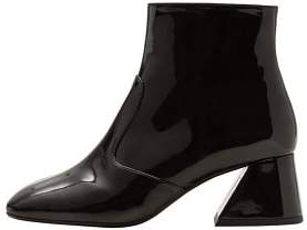 Violeta BY MANGO Patent ankle boots