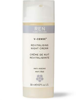 Ren Skincare V-Cense Revitalising Night Cream, 50ml