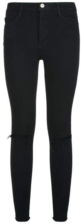 High-Rise Skinny Cropped Jeans