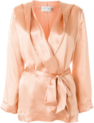 Forte Forte belted robe jacket