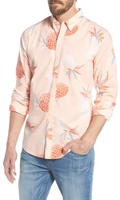 Bonobos Summerweight Slim Fit Print Sport Shirt