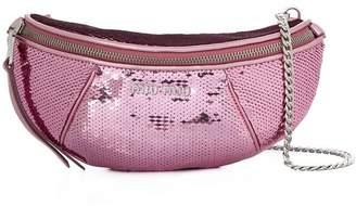 Miu Miu sequinned leather belt bag