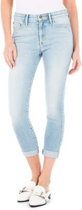 Fidelity Gwen High Waist Crop Skinny Jeans