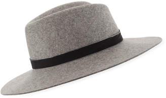 Rag & Bone Zoe Wool Fedora Hat
