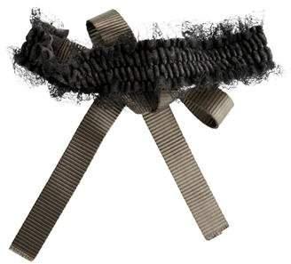 Nina Ricci Lace-Trimmed Waist Belt