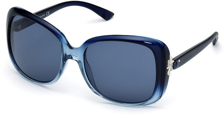 Swarovski Cate Blue Sunglasses