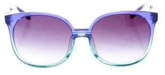 Matthew Williamson x Linda Farrow Tinted Lens Sunglasses