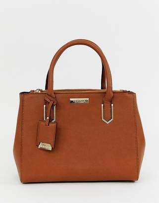 Carvela double zip tote bag