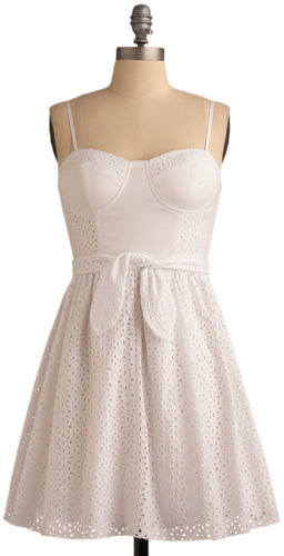 Eyelet It Be Dress