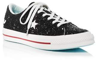 Converse One Star OX x Chiara Ferragni Glitter Sneakers