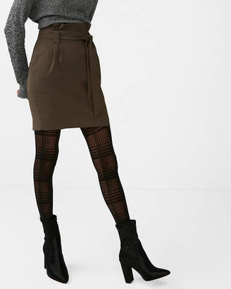 Express Plaid Full Tights