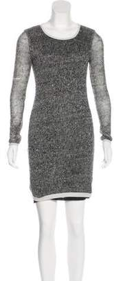 Gryphon Linen Knit Dress
