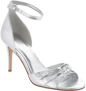 Marc Fisher Ankle Strap Pumps with Bow Detail - Brodie
