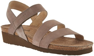 Naot Footwear Leather Cross-strap Sandals - Kayla