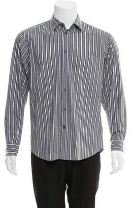 Zegna Sport Striped Button-Up Shirt