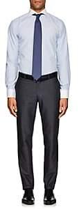 Eton MEN'S STRIPED COTTON DRESS SHIRT - LT. BLUE SIZE 15 R