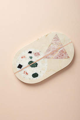 Anthropologie Barbaza Marble Cheese Board